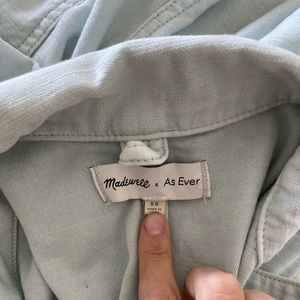 Madewell x As Ever ice blue jumpsuit